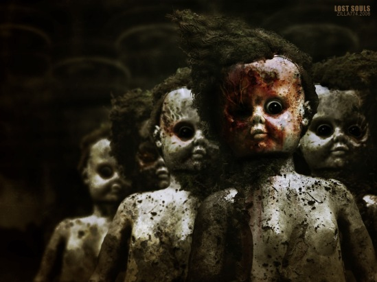 scary children